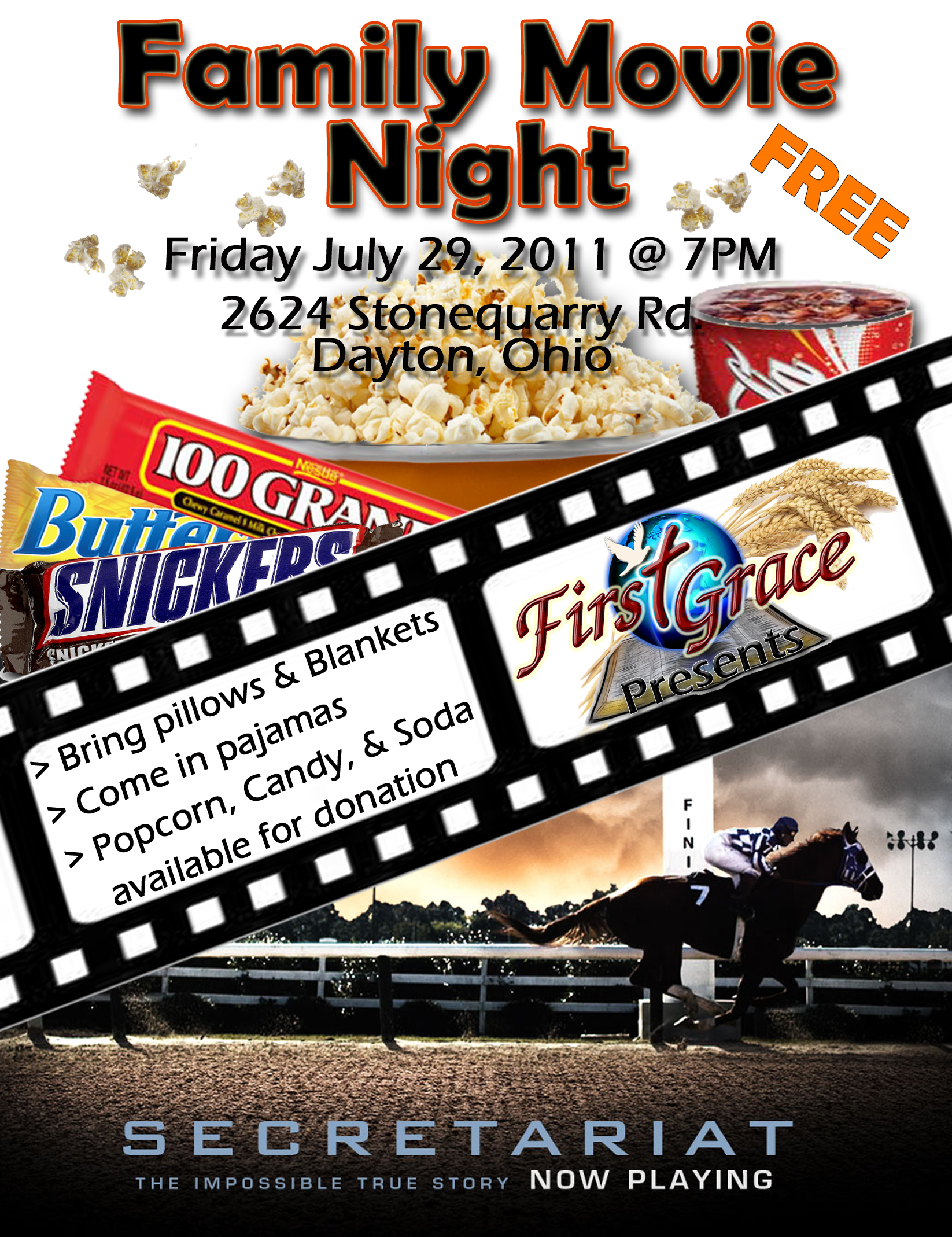 Movie Flyer Template Word More information – Movie Night Flyer Template