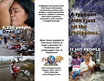 Relief Brochure Front
